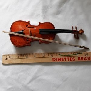Vintage Miniature Bass Cello Violin Decoration Wal